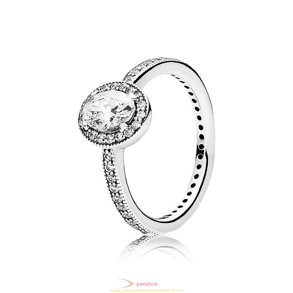 Find Pandora Jewelry Pandora Rings Vintage Elegance Ring Clear Cz