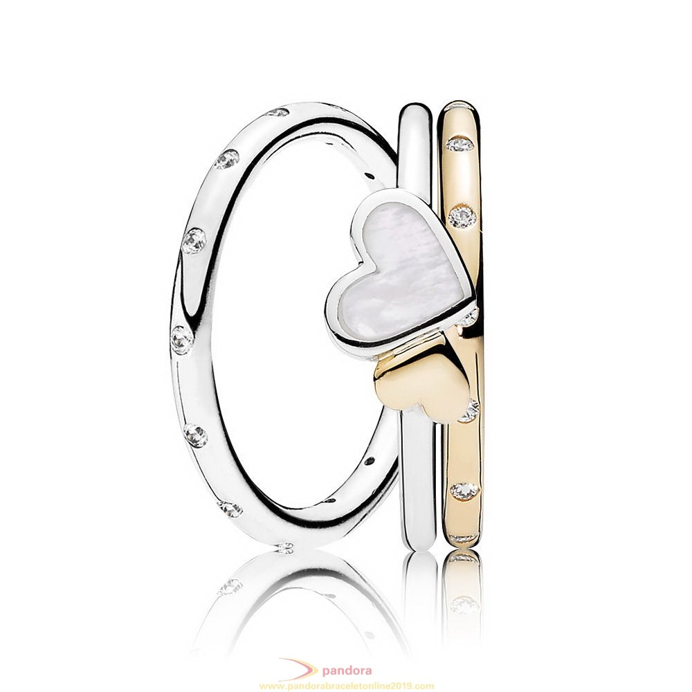 Find Pandora Jewelry Love Drops Ring Stack