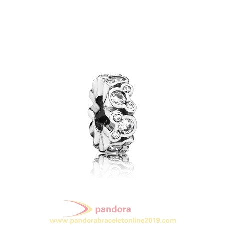 Find Pandora Jewelry Pandora Spacers Charms Disney Mickey All Around Spacer Clear Cz