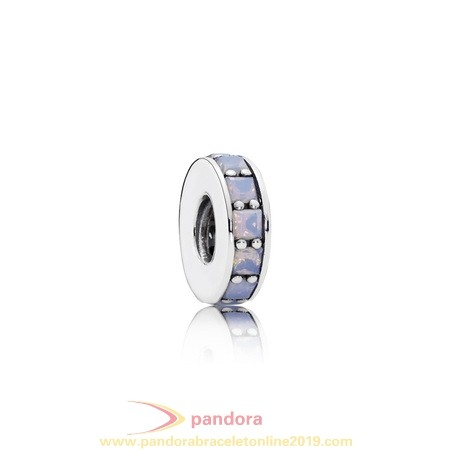 Find Pandora Jewelry Pandora Spacers Charms Eternity Spacer Opalescent White Crystal