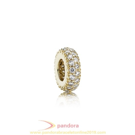 Find Pandora Jewelry Pandora Spacers Charms Inspiration Within Spacer 14K Gold Cz