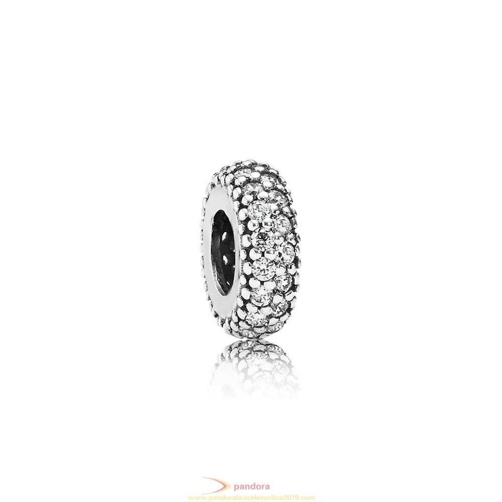 Find Pandora Jewelry Pandora Spacers Charms Inspiration Within Spacer Clear Cz