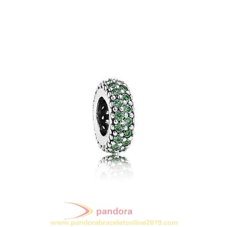 Find Pandora Jewelry Pandora Spacers Charms Inspiration Within Spacer Green Cz