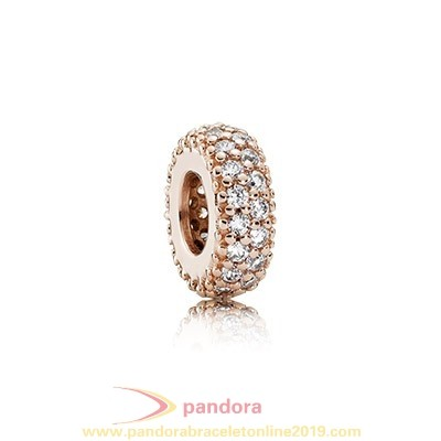 Find Pandora Jewelry Pandora Spacers Charms Inspiration Within Spacer Pandora Rose Clear Cz
