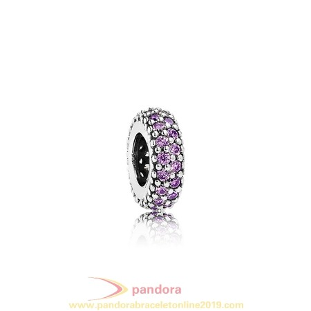 Find Pandora Jewelry Pandora Spacers Charms Inspiration Within Spacer Purple Cz
