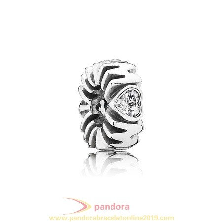Find Pandora Jewelry Pandora Spacers Charms Mother'S Pride Spacer Clear Cz