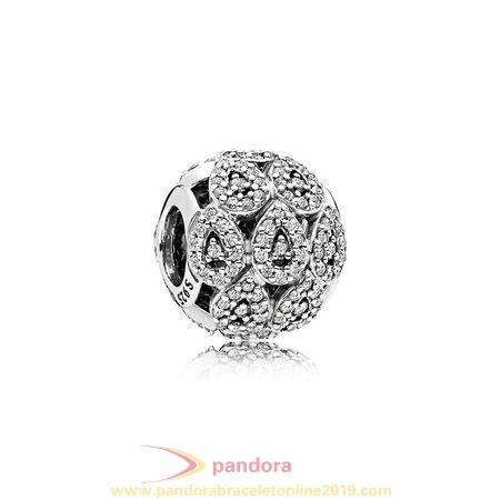 Find Pandora Jewelry Pandora Sparkling Paves Charms Cascading Glamour Charm Clear Cz