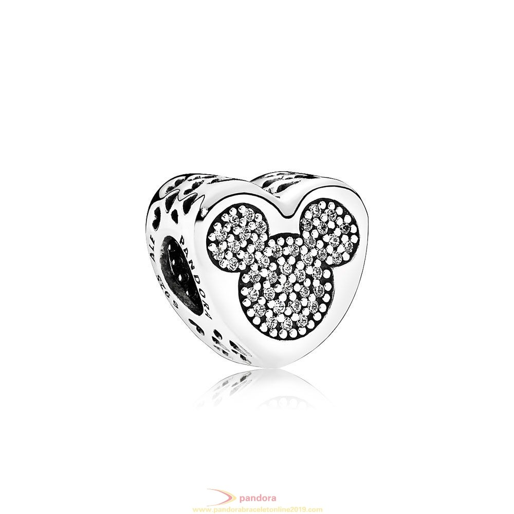 Find Pandora Jewelry Pandora Sparkling Paves Charms Disney Mickey Minnie True Love