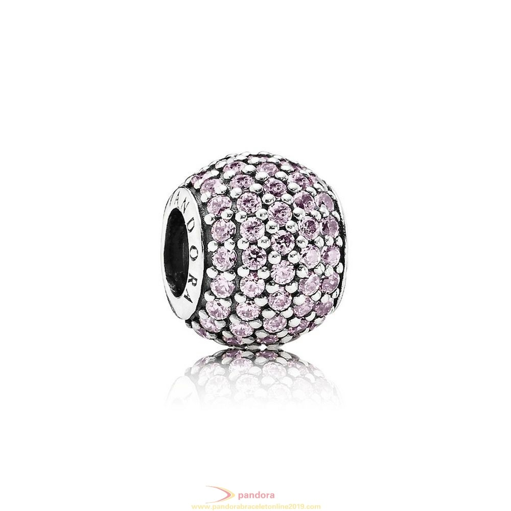 Find Pandora Jewelry Pandora Sparkling Paves Charms Pave Lights Charm Pink Cz