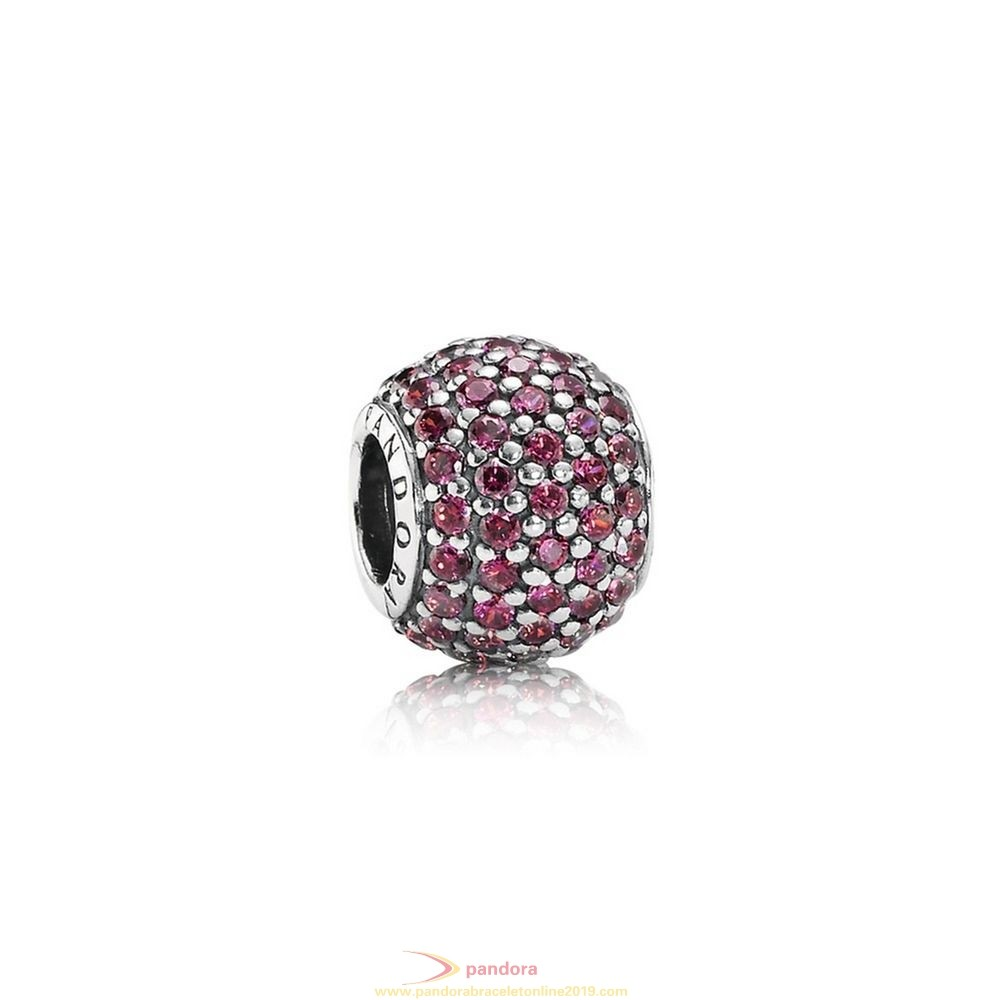 Find Pandora Jewelry Pandora Sparkling Paves Charms Pave Lights Charm Red Cz