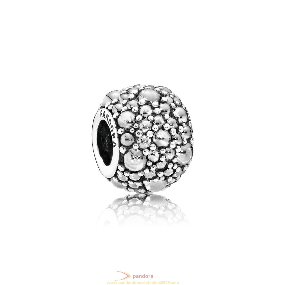Find Pandora Jewelry Pandora Sparkling Paves Charms Shimmering Droplets Charm Clear Cz
