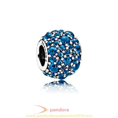Find Pandora Jewelry Pandora Sparkling Paves Charms Shimmering Droplets Charm London Blue Crystal