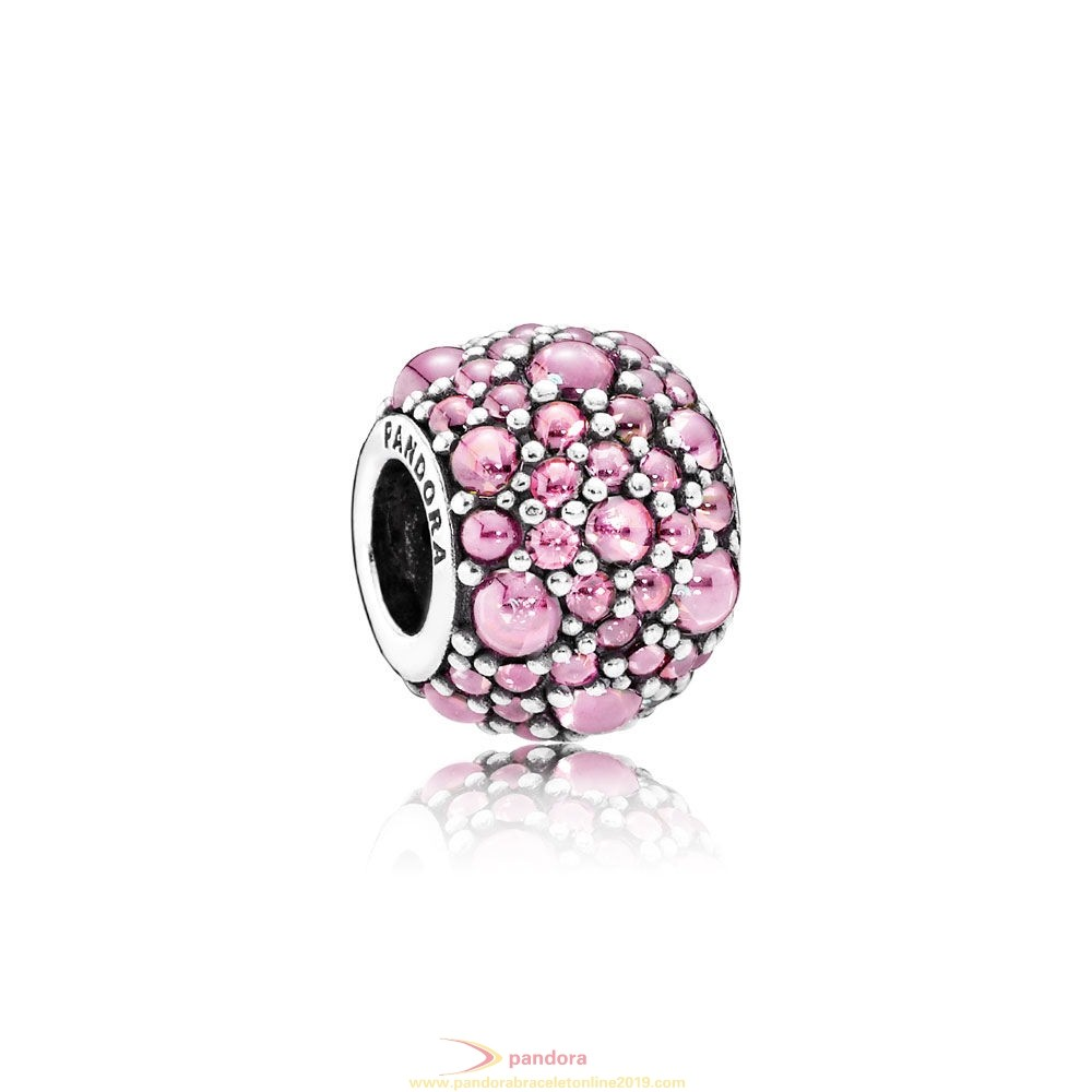 Find Pandora Jewelry Pandora Sparkling Paves Charms Shimmering Droplets Charm Pink Cz