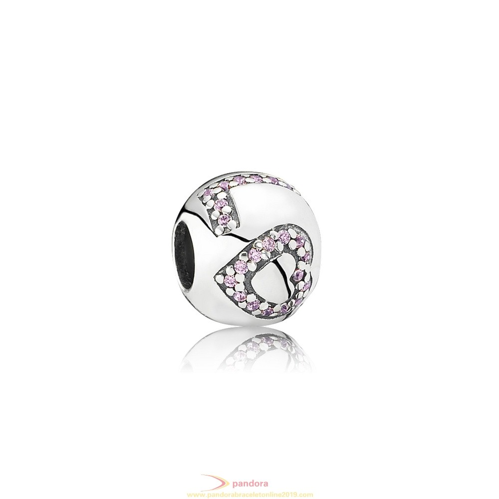 Find Pandora Jewelry Pandora Sparkling Paves Charms Surrounded By Love Charm Pink Cz