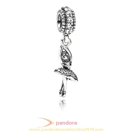 Find Pandora Jewelry Pandora Passions Charms Sports Recreation Ballerina Pendant Charm Clear Cz