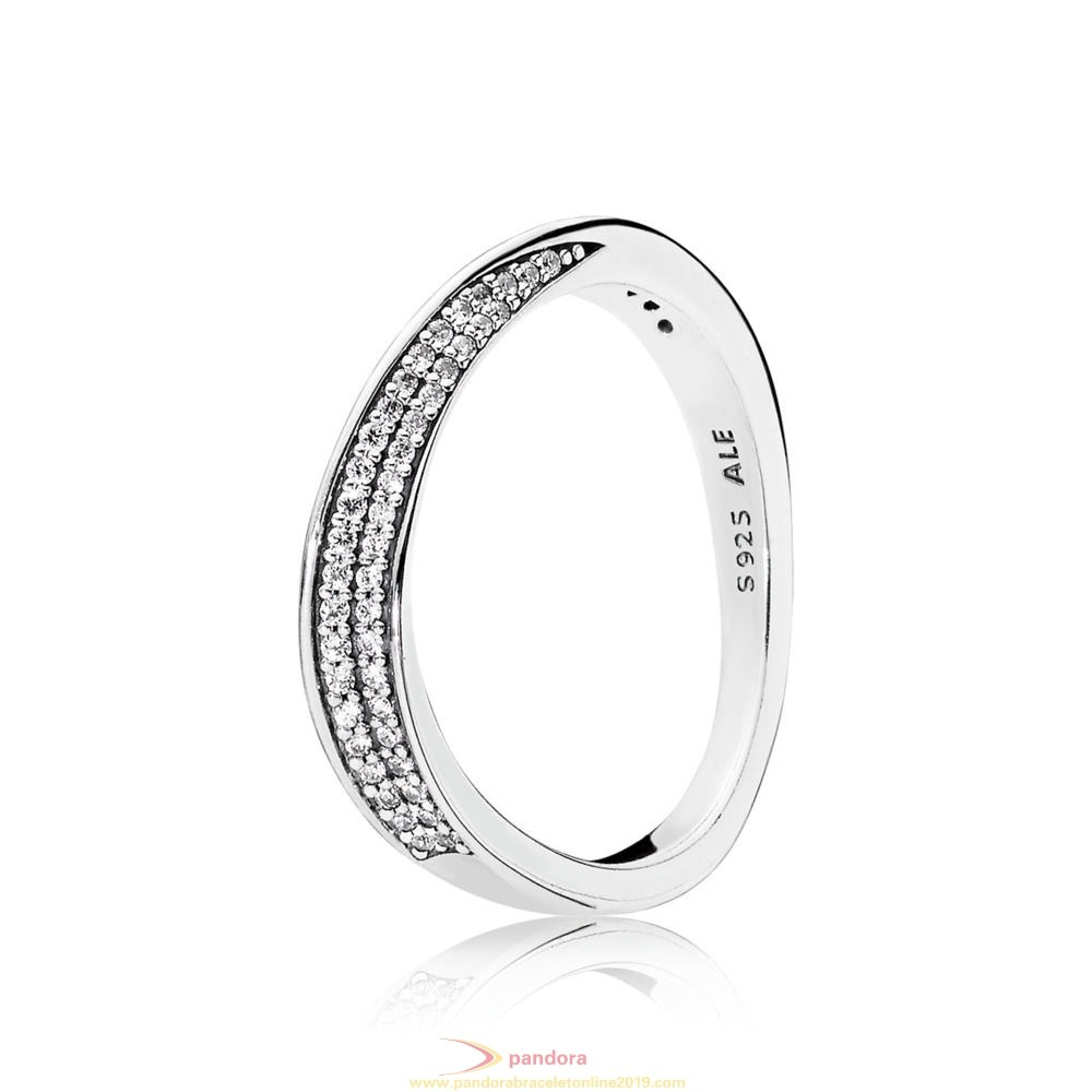 Find Pandora Jewelry Elegant Waves Ring