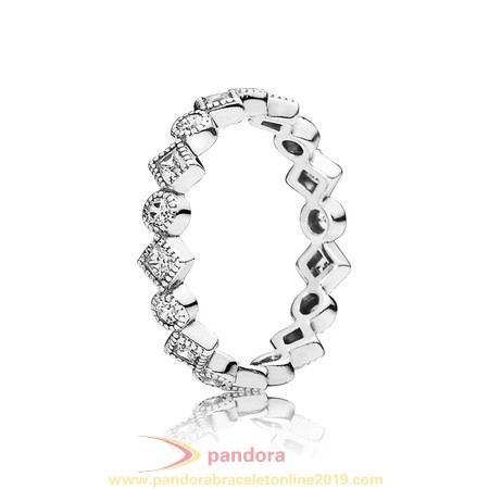 Find Pandora Jewelry Pandora Rings Alluring Brilliant Princess Stackable Ring Cz