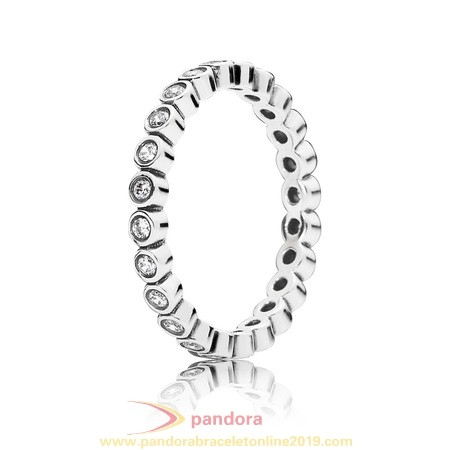 Find Pandora Jewelry Pandora Rings Alluring Petite Brilliant Stackable Ring Clear Cz