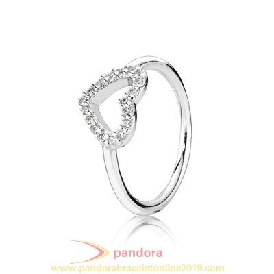 Find Pandora Jewelry Pandora Rings Be My Valentine With Clear Cz Stackable 925 Silver Fancy Ring