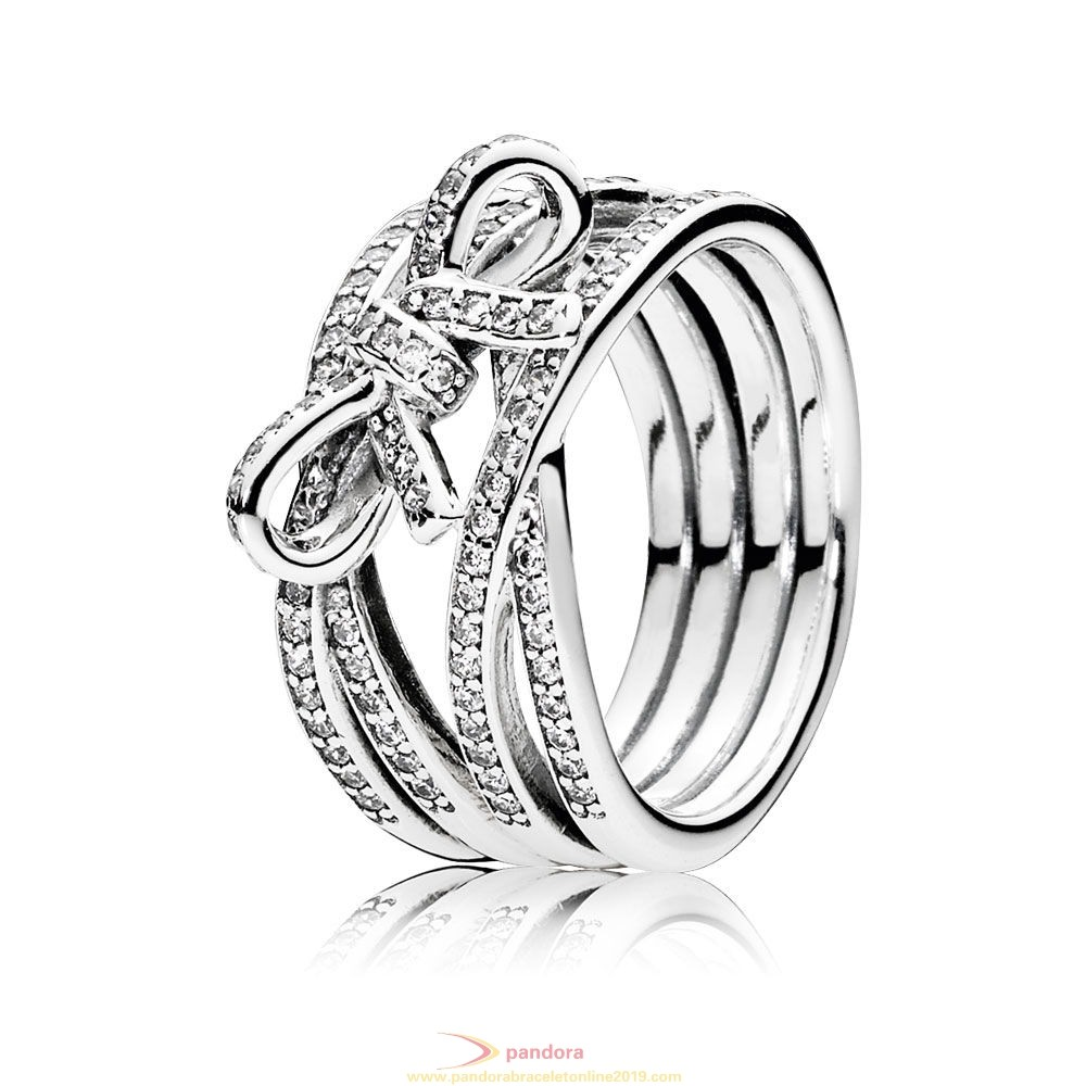 Find Pandora Jewelry Pandora Rings Delicate Sentiments Ring Clear Cz