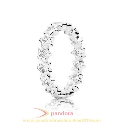 Find Pandora Jewelry Pandora Rings Starshine With Clear Cz 925 Silver Circle Ring