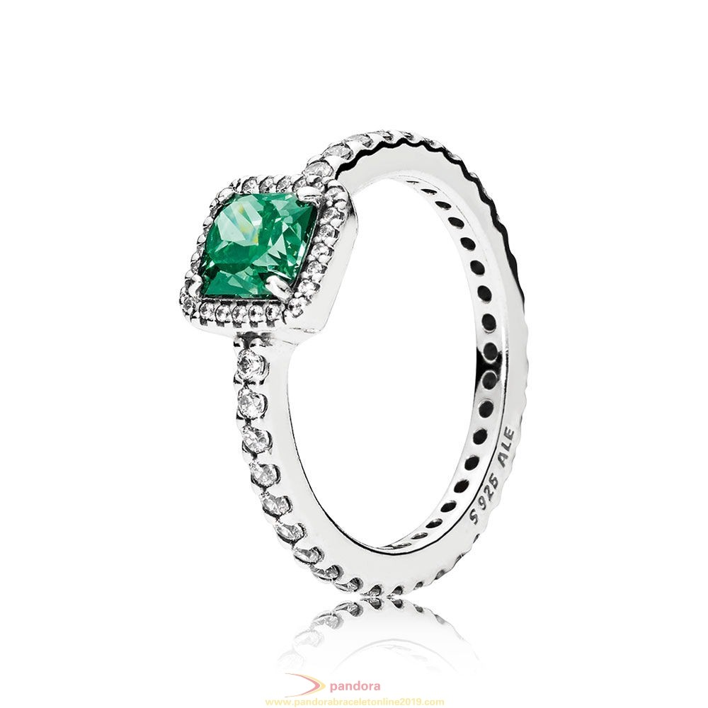 Find Pandora Jewelry Pandora Rings Timeless Elegance Green Clear Cz