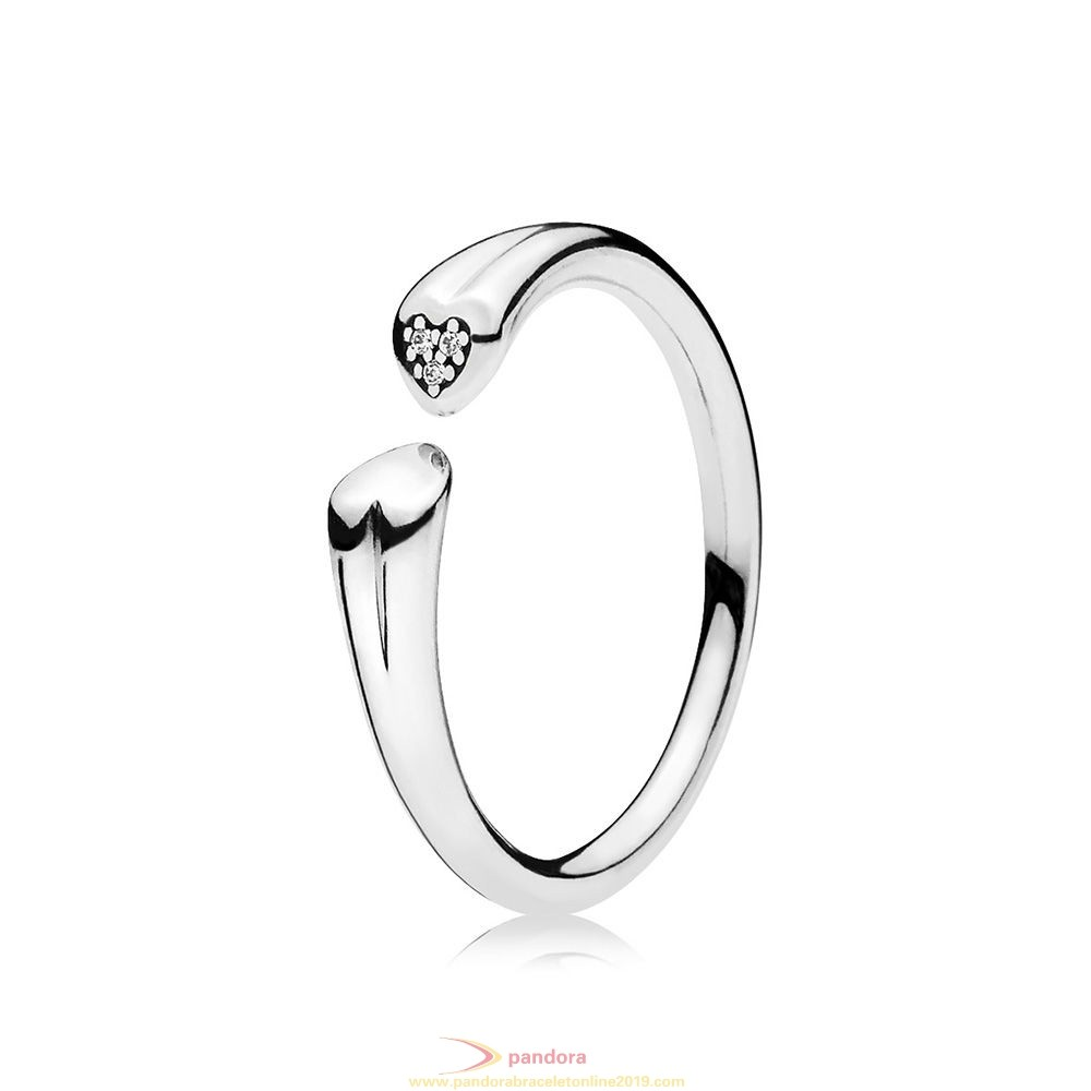Find Pandora Jewelry Two Hearts Ring