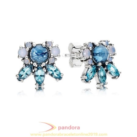 Find Pandora Jewelry Pandora Earrings Patterns Of Frost Stud Earrings Multi Colored Crystal