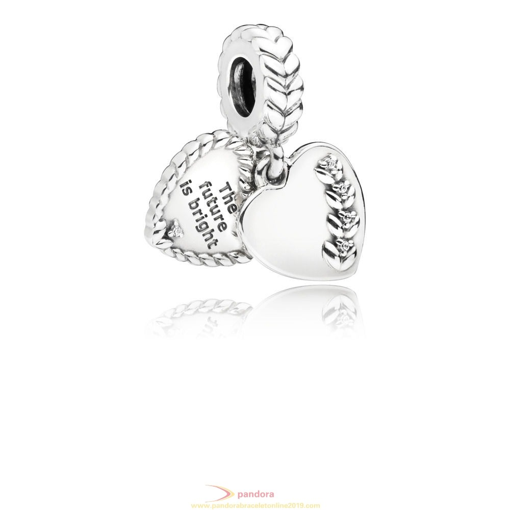 Find Pandora Jewelry Bright Heart Seeds Hanging Charm