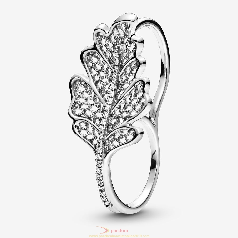 Find Pandora Jewelry Oak Leaf Double Ring