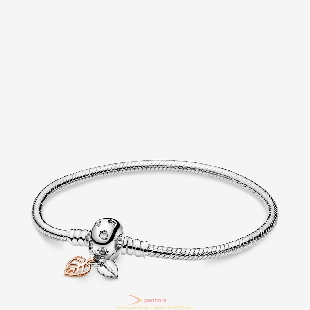 Find Pandora Jewelry Pandora Moments Leaves Snake Chain Bracelet