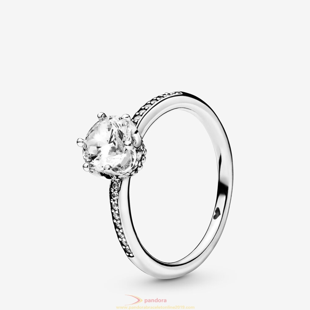 Find Pandora Jewelry Sparkling Crown Ring