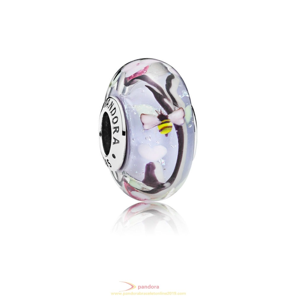 Find Pandora Jewelry Enchanted Garden Murano Glass Charm