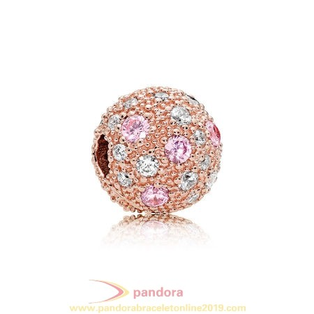 Find Pandora Jewelry Pandora Touch Of Color Charms Cosmic Stars Clip Pandora Rose Pink Clear Cz