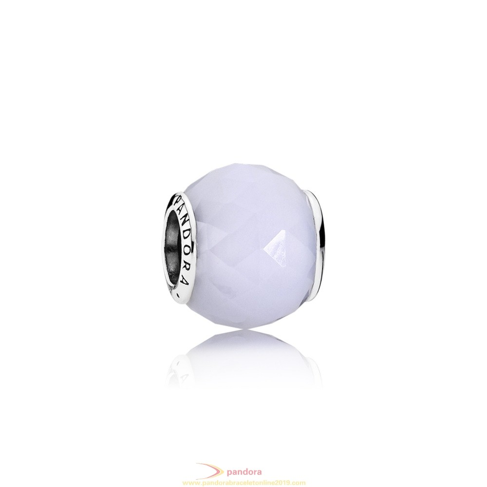 Find Pandora Jewelry Pandora Touch Of Color Charms Geometric Facets Charm Opalescent White Crystal