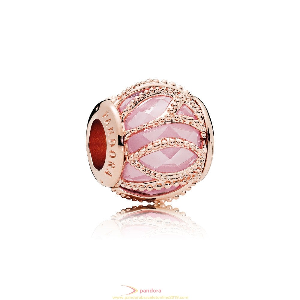 Find Pandora Jewelry Pandora Touch Of Color Charms Intertwining Radiance Charm Pandora Rose Pink Cz