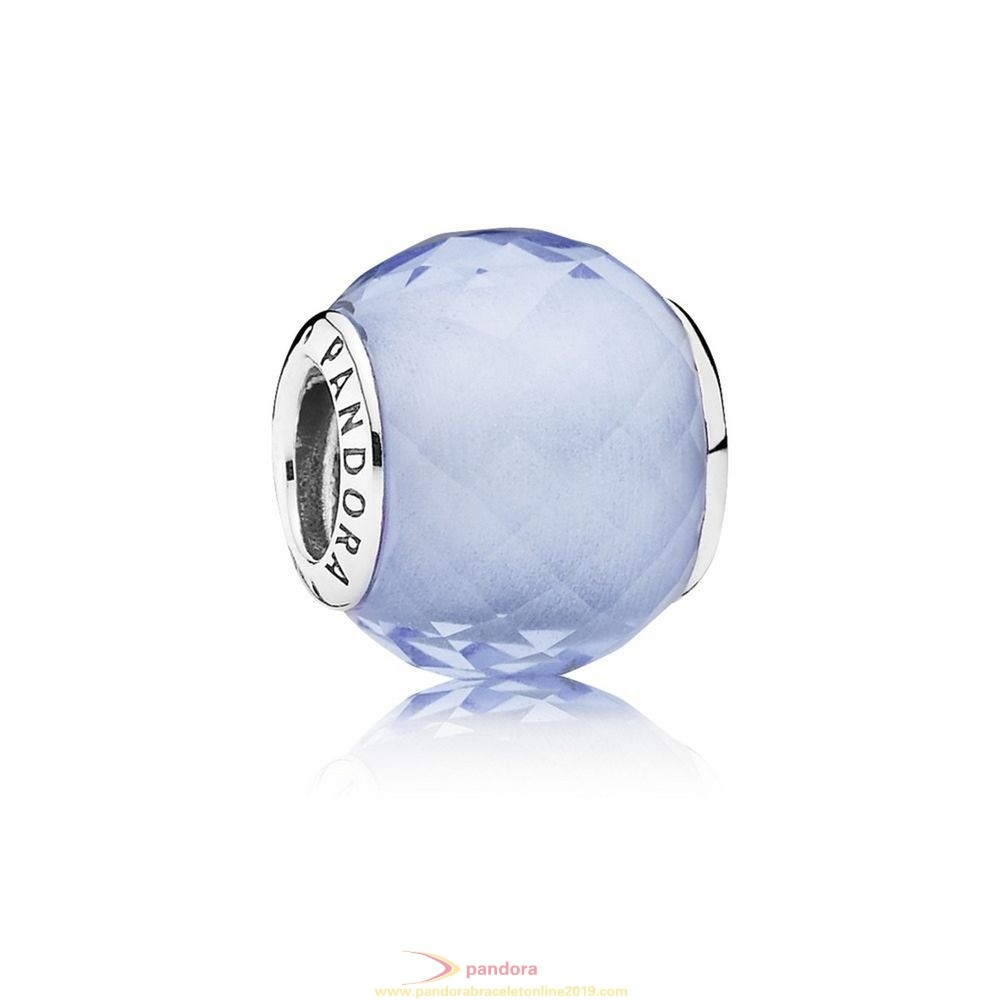 Find Pandora Jewelry Pandora Touch Of Color Charms Petite Facets Charm Synthetic Blue Quartz
