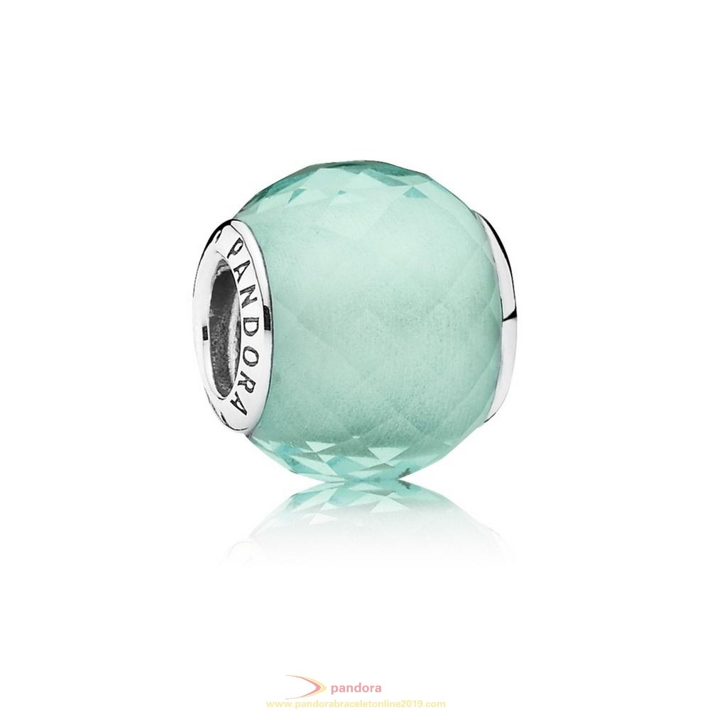 Find Pandora Jewelry Pandora Touch Of Color Charms Petite Facets Charm Synthetic Green Quartz