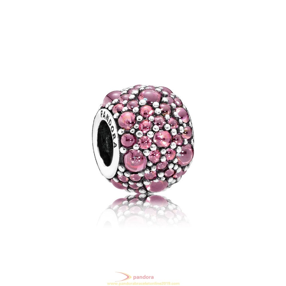 Find Pandora Jewelry Pandora Touch Of Color Charms Shimmering Droplet Charm Honeysuckle Pink Cz
