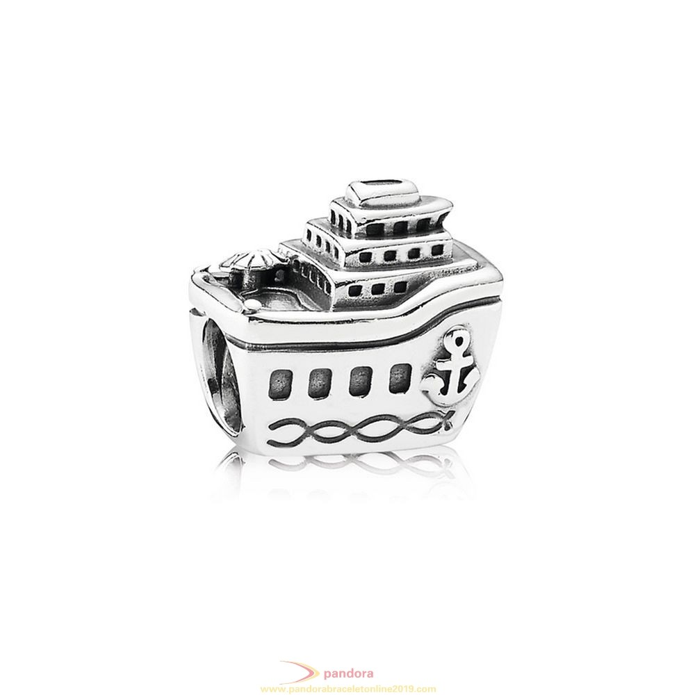 Find Pandora Jewelry Pandora Vacation Travel Charms All Aboard Cruise Ship Charm
