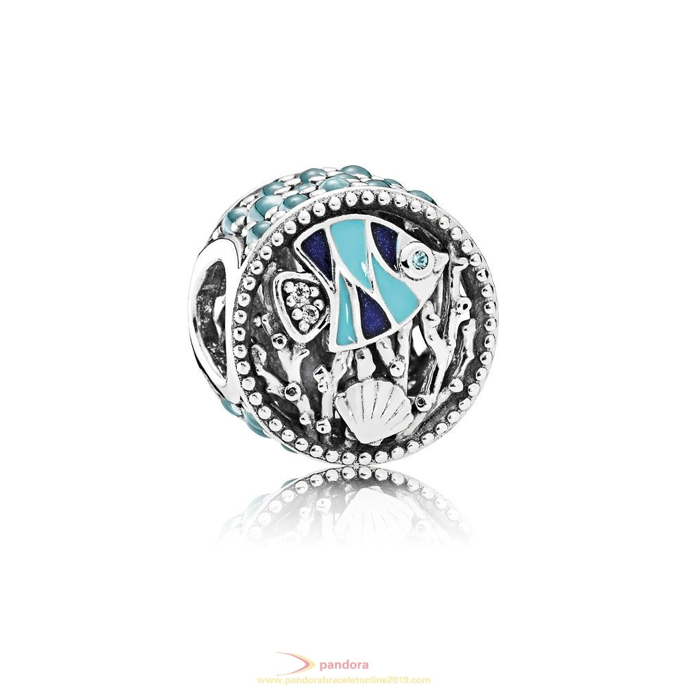 Find Pandora Jewelry Pandora Vacation Travel Charms Ocean Life Charm Mixed Enamel Multi Colored Cz