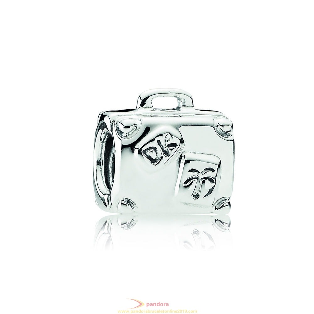 Find Pandora Jewelry Pandora Vacation Travel Charms Suitcase Charm