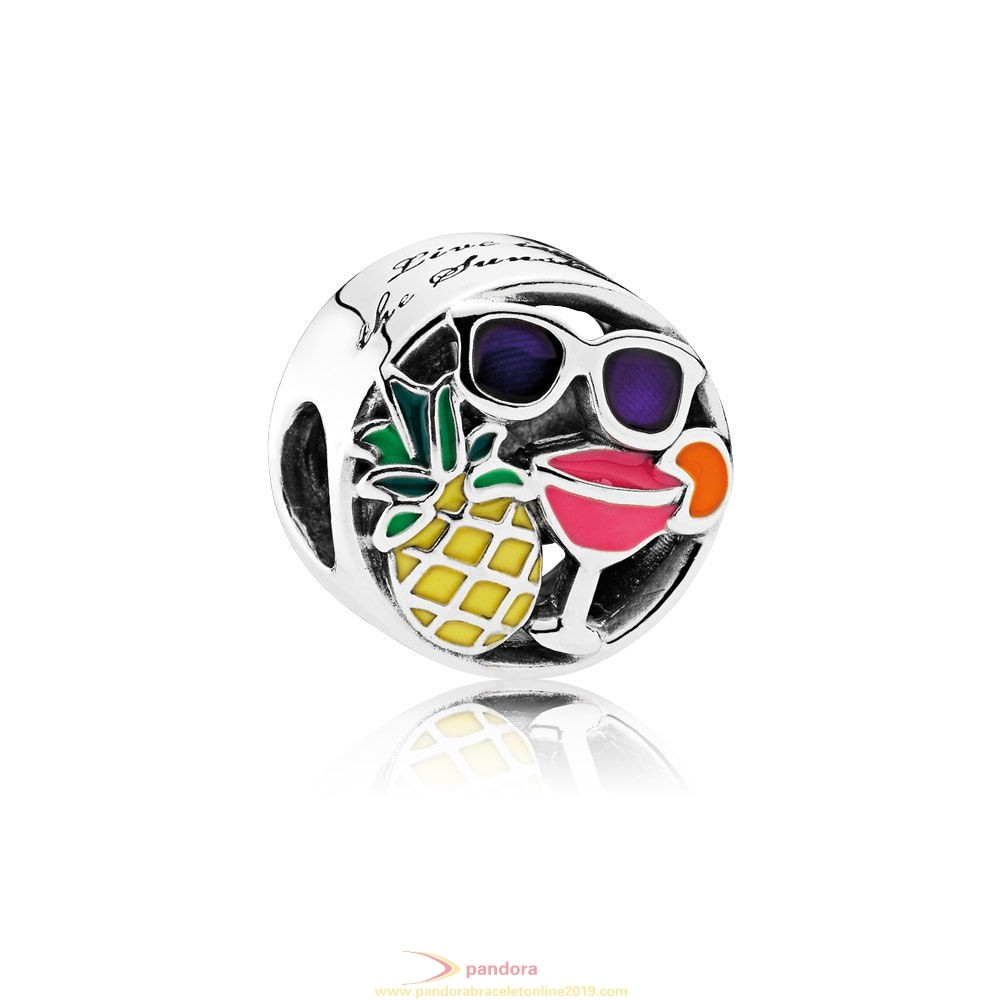 Find Pandora Jewelry Pandora Vacation Travel Charms Summer Fun Charm Mixed Enamel