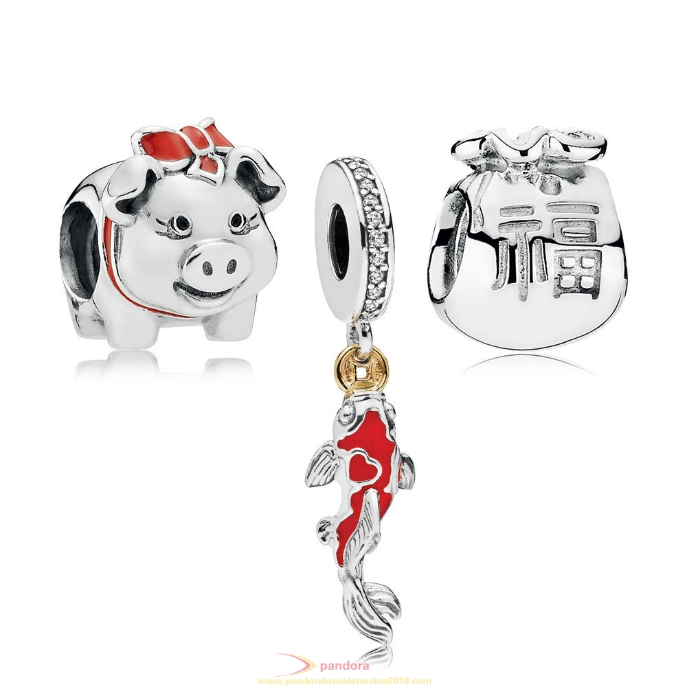 Find Pandora Jewelry Lunar New Year Charm Pack