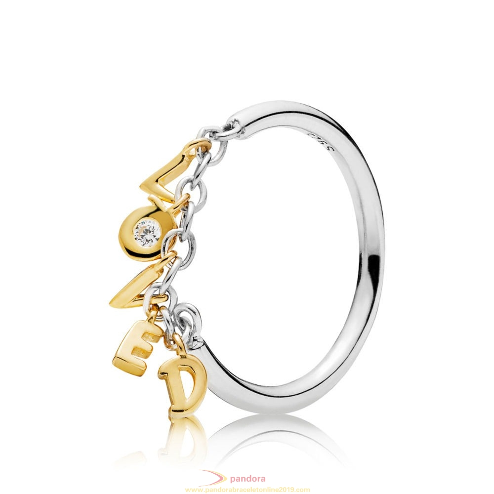 Find Pandora Jewelry Pandora Shine Loved Script Ring