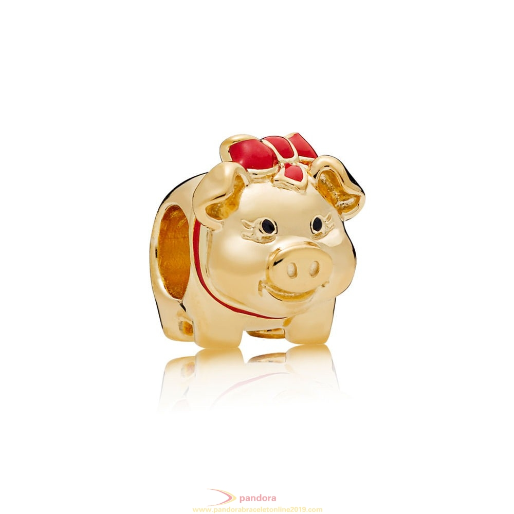 Find Pandora Jewelry Pandora Shine Piggy Bank Charm