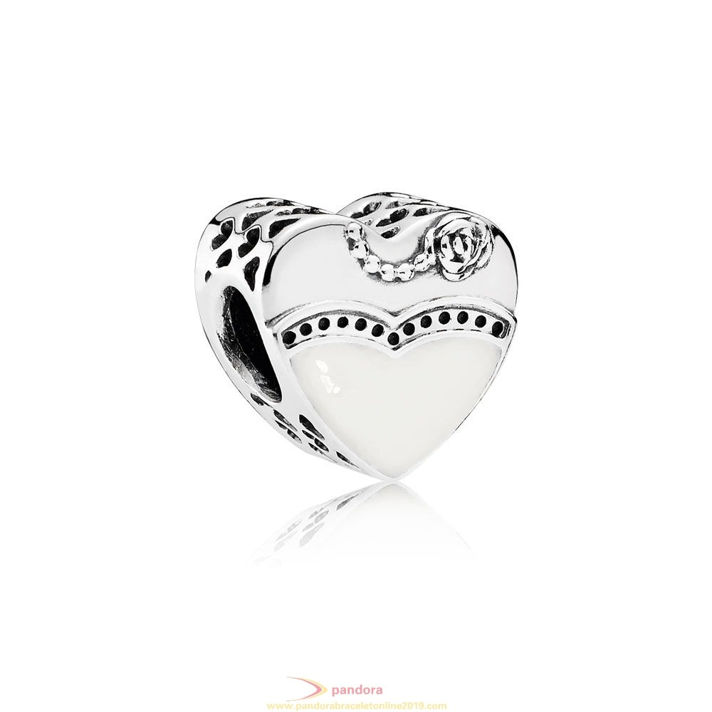 Find Pandora Jewelry Pandora Wedding Anniversary Charms Our Special Day Charm Black White Enamel