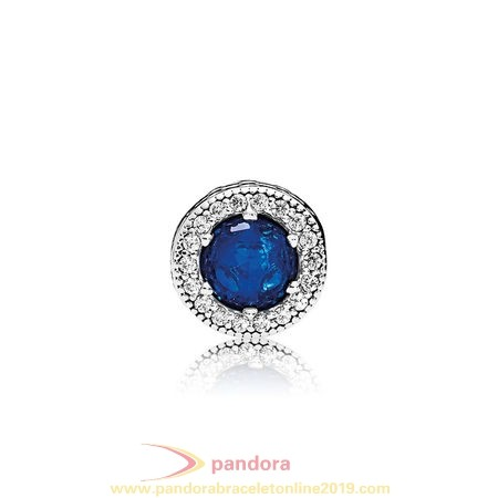 Find Pandora Jewelry Pandora Winter Collection Peace Charm Royal Blue Crystals Clear Cz
