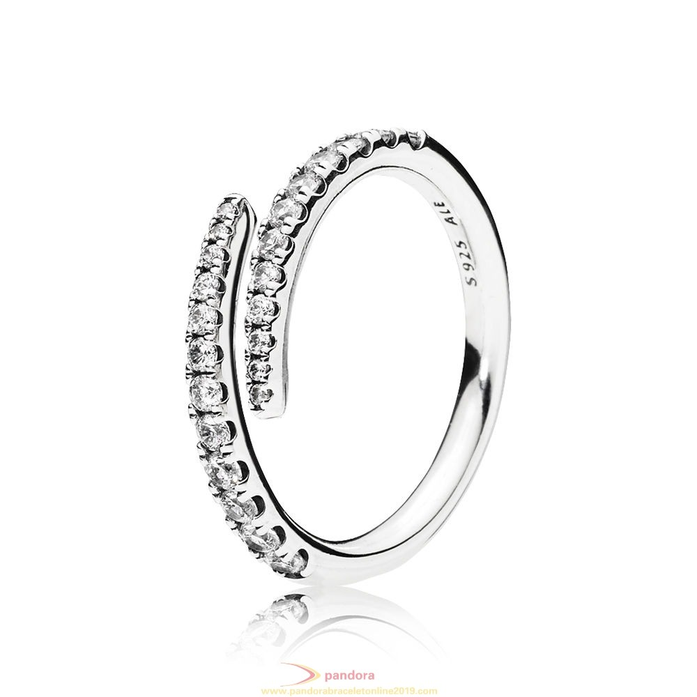 Find Pandora Jewelry Pandora Winter Collection Shooting Star Ring Clear Cz