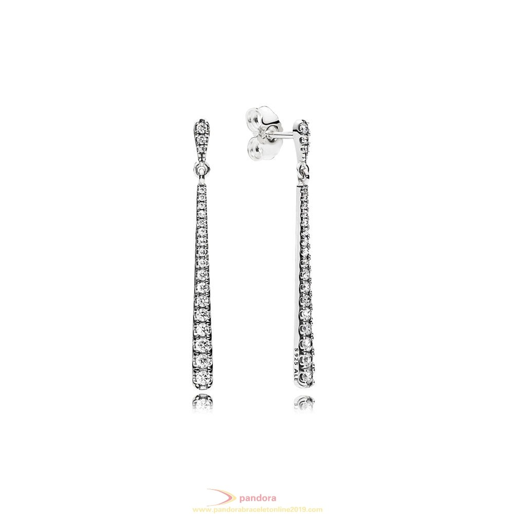 Find Pandora Jewelry Pandora Winter Collection Shooting Stars Pendant Earrings Clear Cz